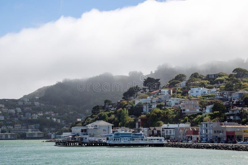 Sausalito,加利福尼亚,美国 免版税库存图片