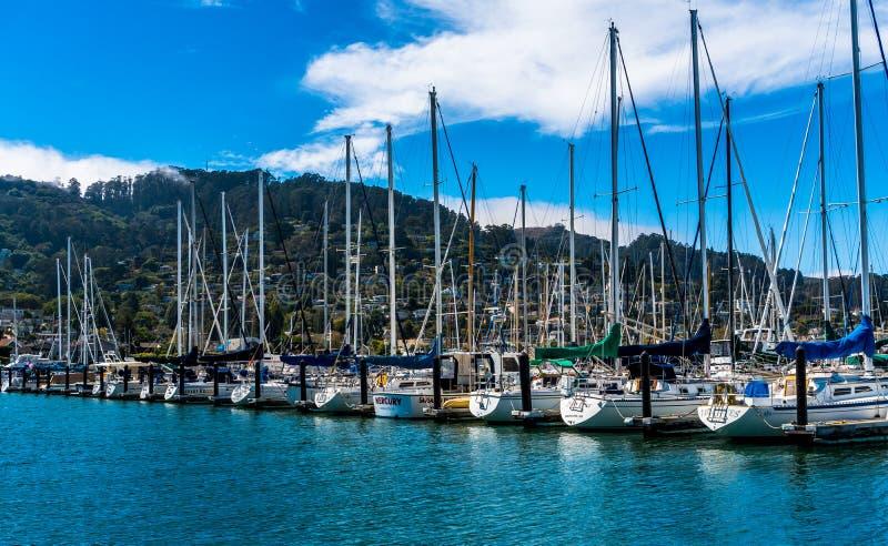 Sausalito bredvid San Francisco royaltyfri foto