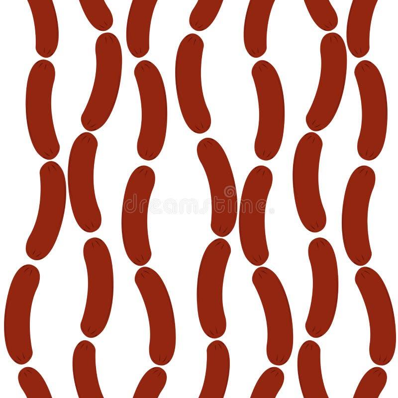 sauseges διανυσματική απεικόνιση