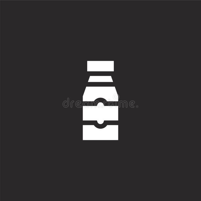 Sauspictogram Gevuld sauspictogram voor websiteontwerp en mobiel, app ontwikkeling sauspictogram van de gevulde geïsoleerde inzam royalty-vrije illustratie