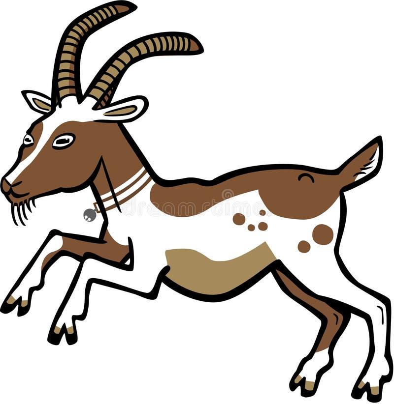 Saut de Billy Goat photo libre de droits