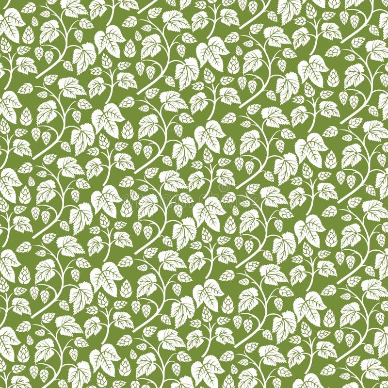 Saute à cloche-pied l'icône avec des feuilles illustration de vecteur