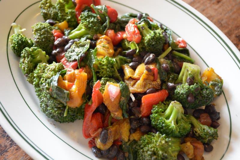 sauteed grönsaker royaltyfri foto