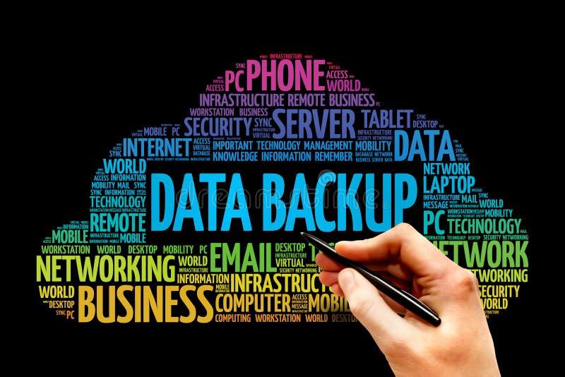 Sauvegarde des données photos libres de droits
