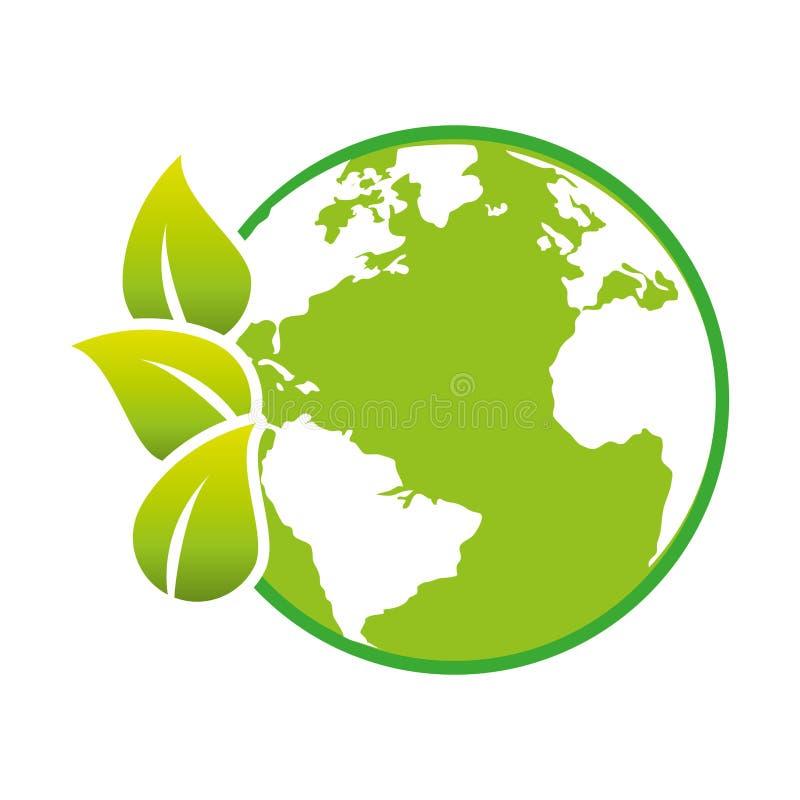 Download Sauvez L'écologie De Planète Du Monde Illustration de Vecteur - Illustration du soin, drapeau: 87703577
