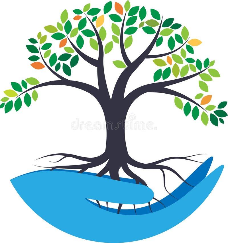 Sauvez la nature illustration de vecteur