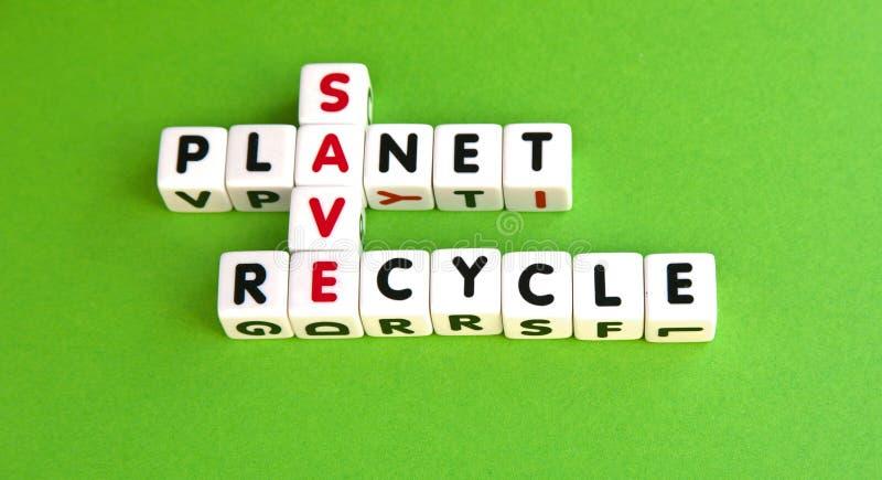 Sauvez la planète photo stock