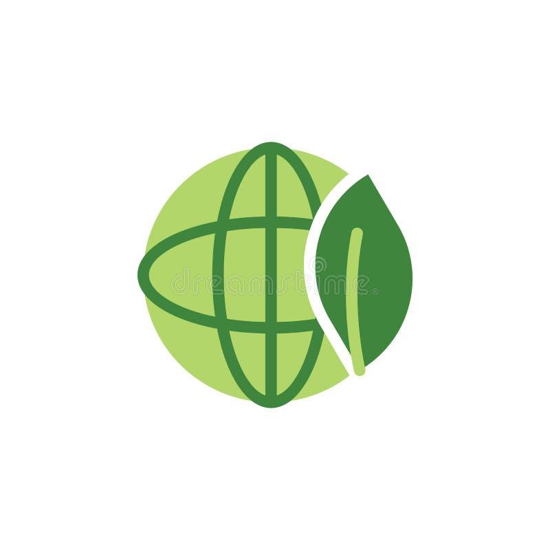 Sauvez le monde, icône colorée écologique ?l?ments des ?conomies l'ic?ne d'illustration de la terre Des signes et les symboles pe illustration stock