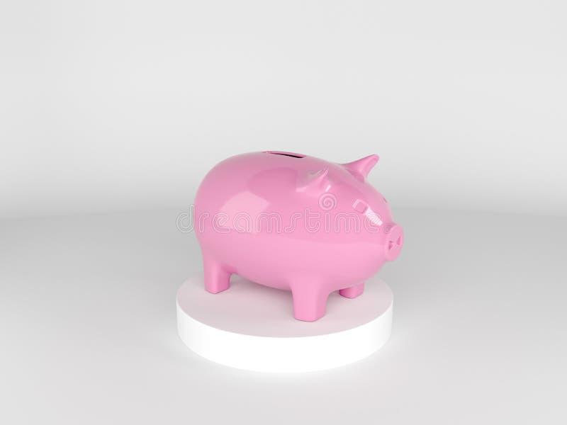 Sauvez votre argent, concept de temps ou gestion financière photographie stock