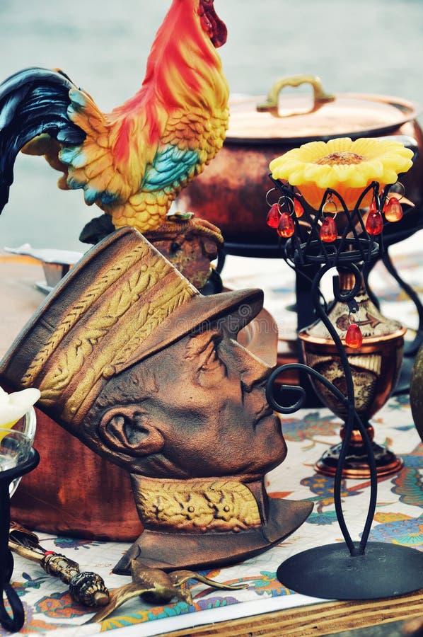 Sauvez-vous le marché à Montreux photo libre de droits