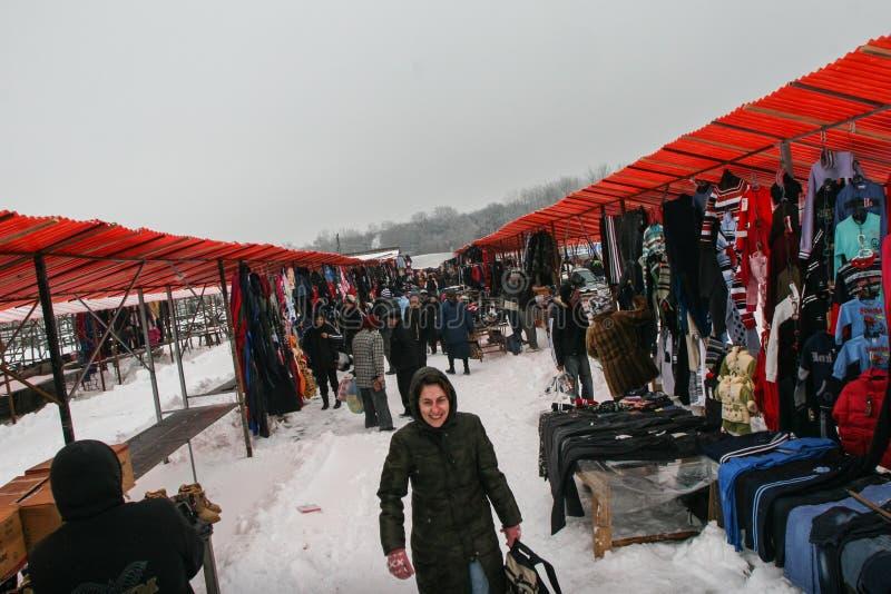 Sauvez-vous le marché de l'hiver photos stock