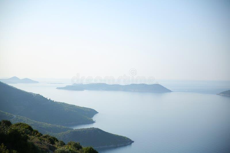 Savage Croatian Islands Landscapes, Croatie photos stock