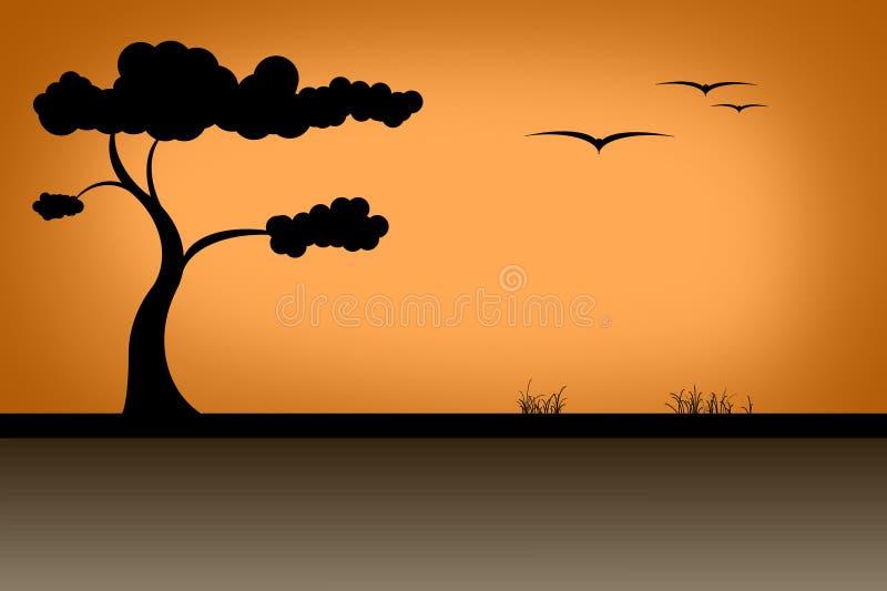 savannah ilustracji