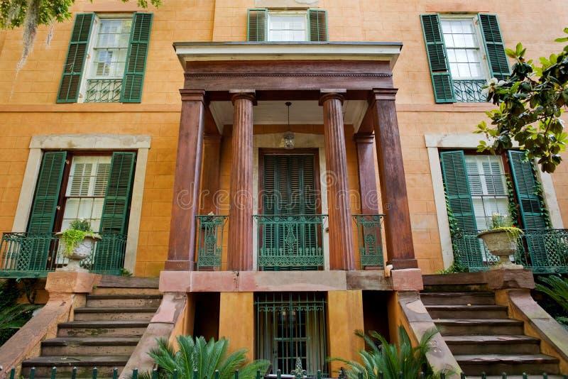 Savannah architecture royalty free stock photo