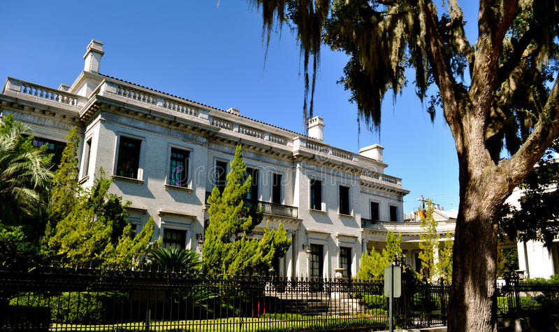 Savannah Architecture royalty-vrije stock afbeeldingen