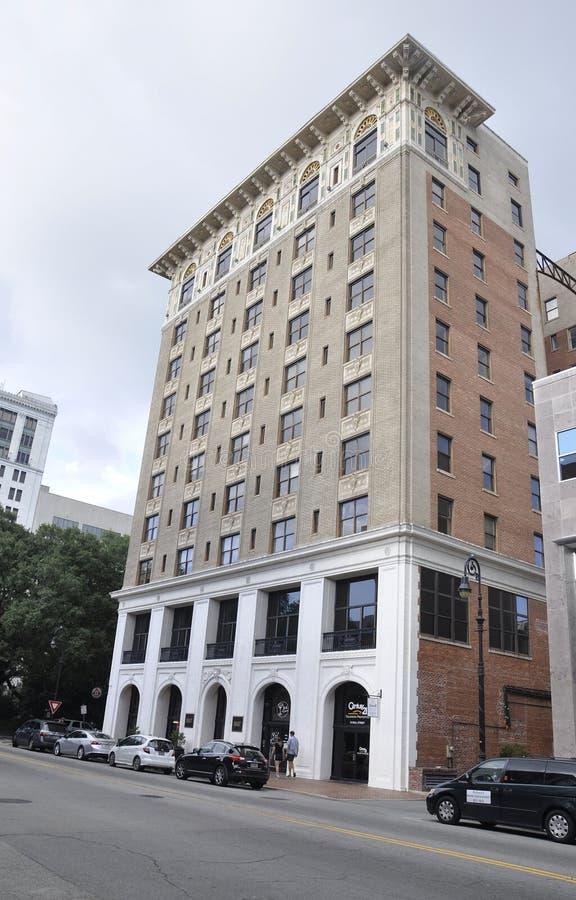 Savannah, August 7th:Historic Building from Savannah in Georgia USA stock photo