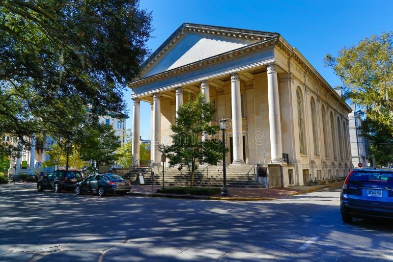 Savannah Church arkivbild