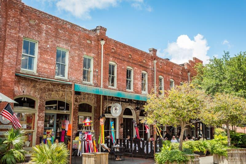 Savannah City Market lizenzfreies stockbild