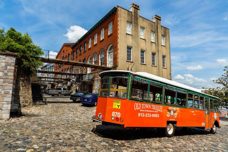 Savannah Cityscape fotografía de archivo