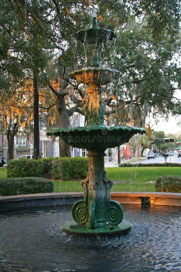 Savannah Fountain royalty free stock photos