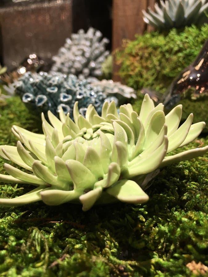 Savannah Georgia Ceramic Flower imagens de stock royalty free