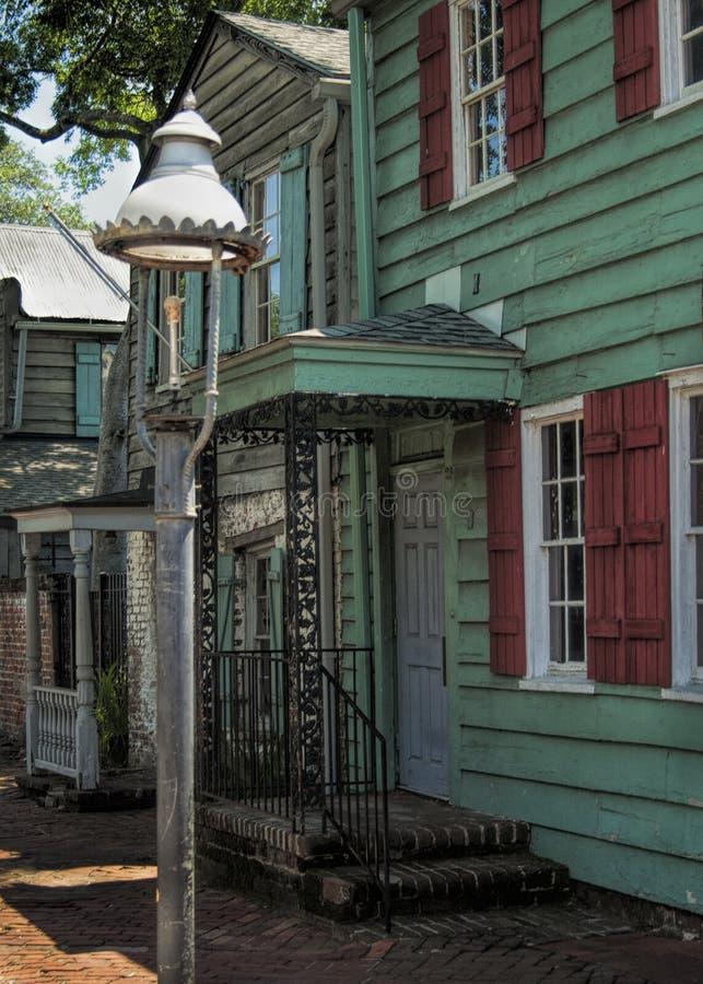 Savannah Georgia Pirates House imágenes de archivo libres de regalías