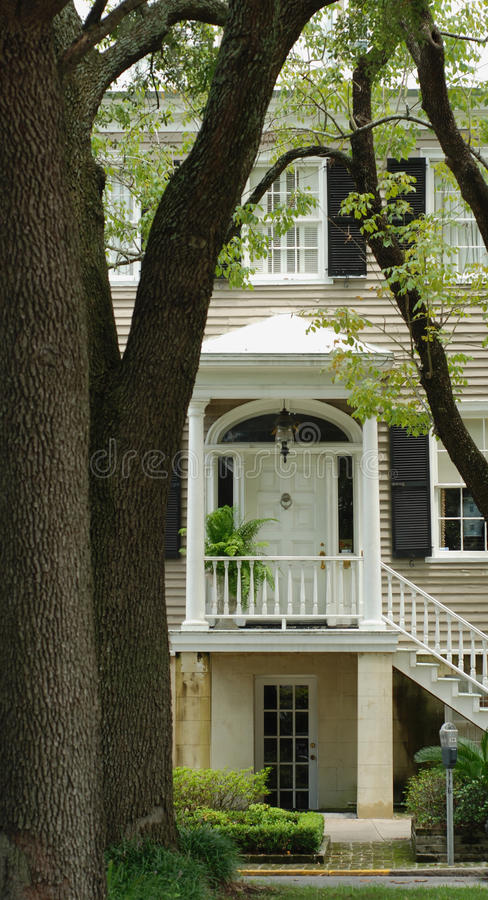Savannah Home Entrance stock photography