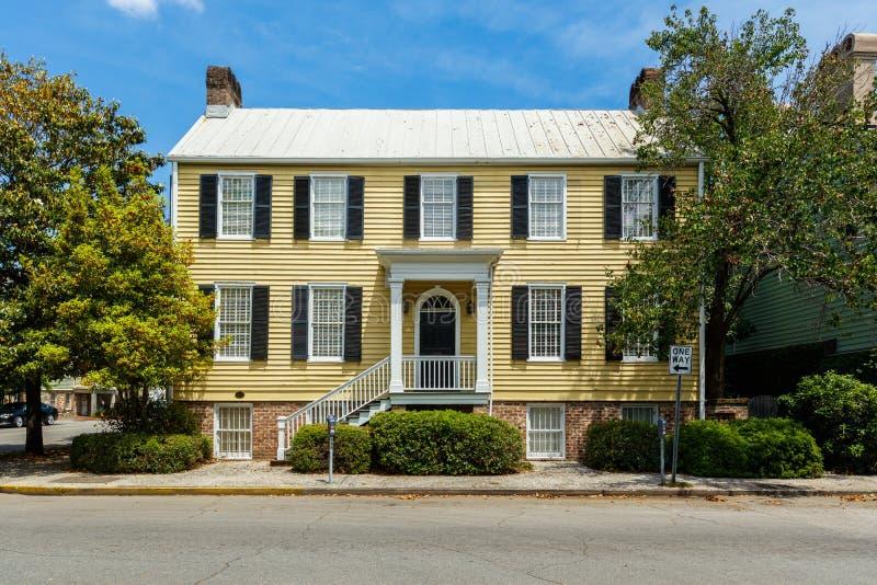 Savannah Home storica immagini stock