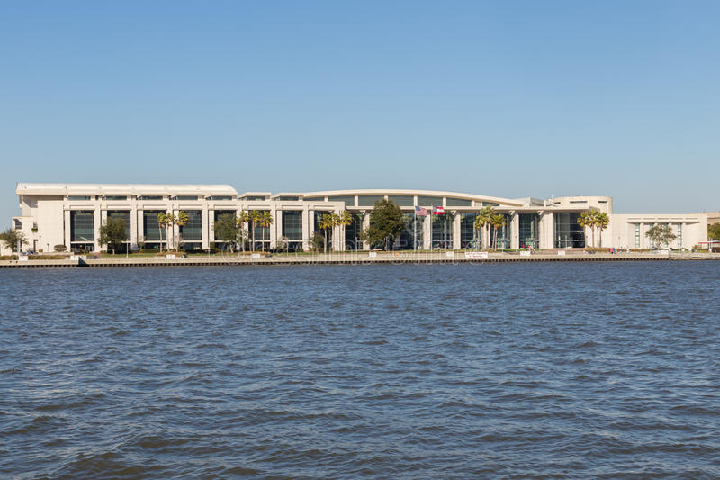 Savannah International Trade och Convention Center fotografering för bildbyråer
