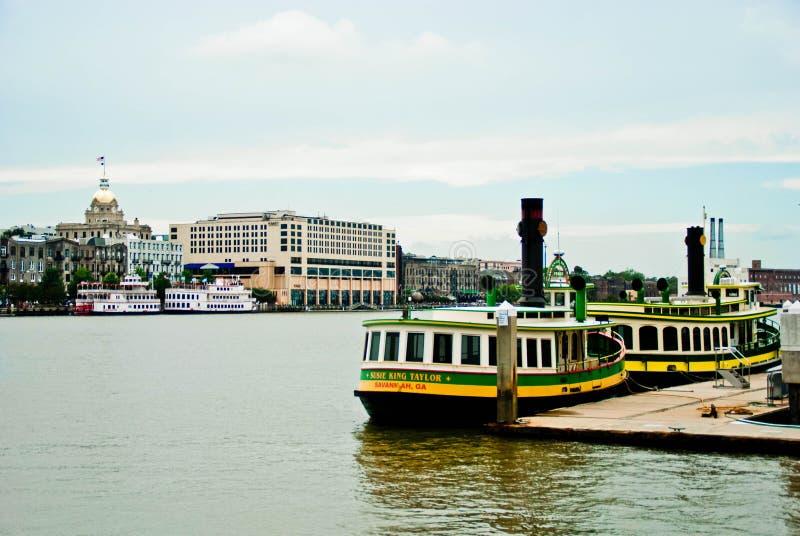 Savannah River royaltyfria foton