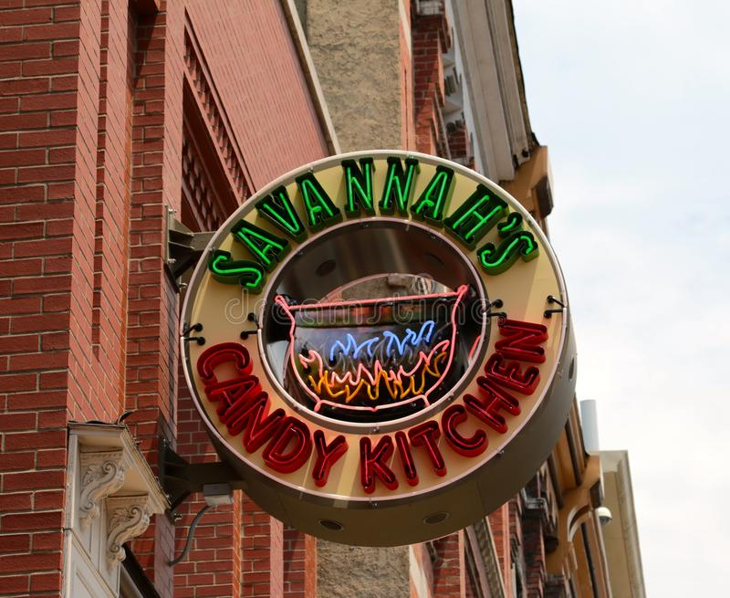 Savannah\'s Candy Kitchen Nashville, Tennessee Editorial Photography ...
