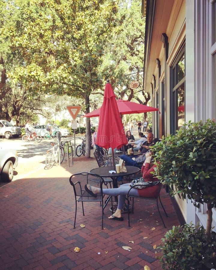 Savannah Sidewalk imagenes de archivo
