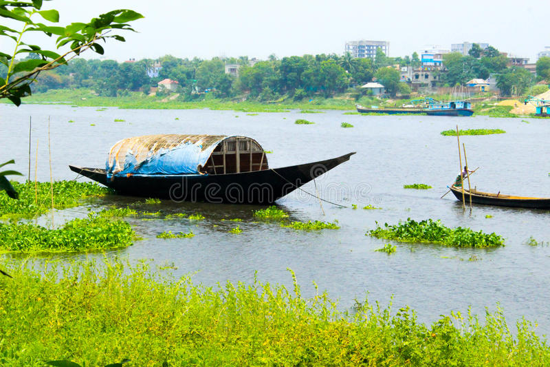 Savar river side , Bangladesh. royalty free stock photos