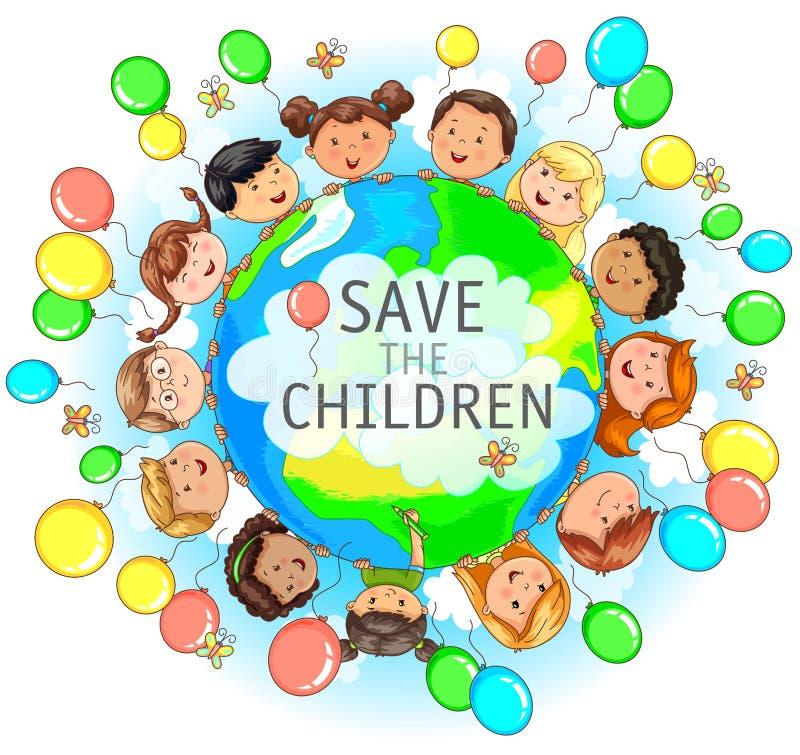Save dzieci ilustracyjnych ilustracji