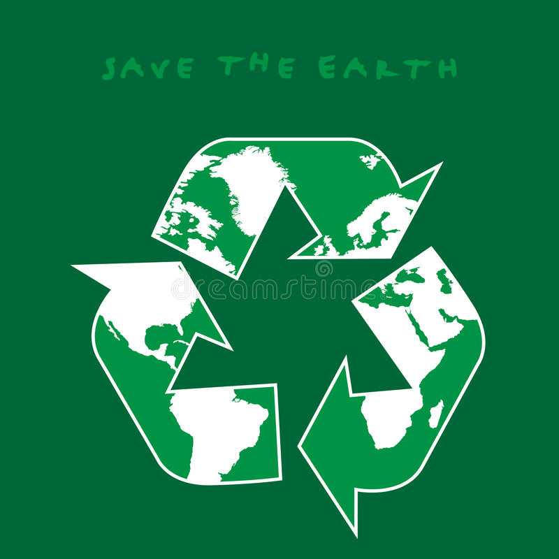 Download Save the Earth stock vector. Image of refuse, interest - 23499171