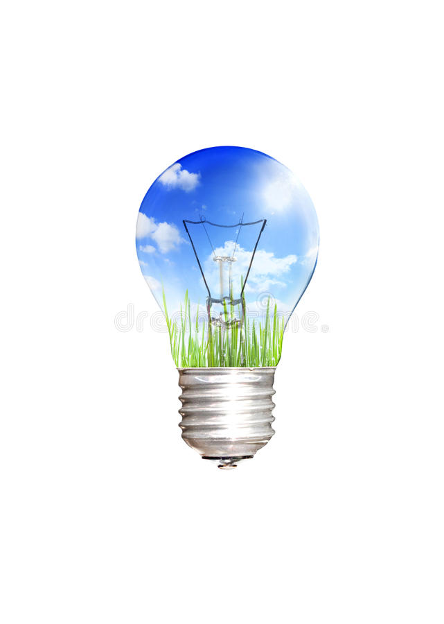 save energy concept royalty free stock photography