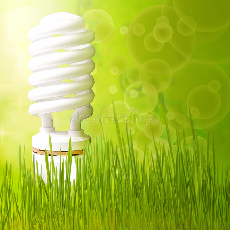 Save energy concept background abstract green vector illustration