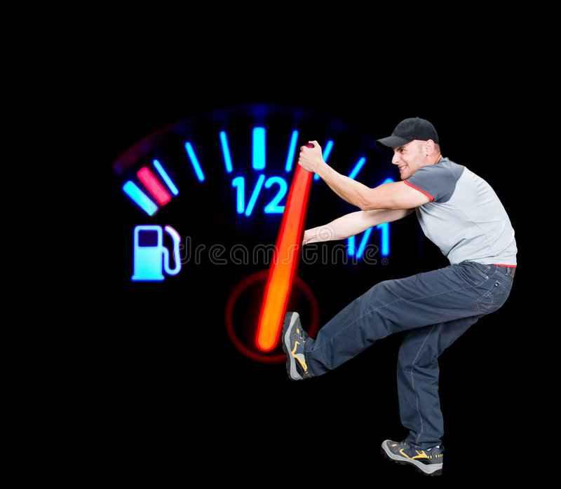 Save the fuel royalty free stock images