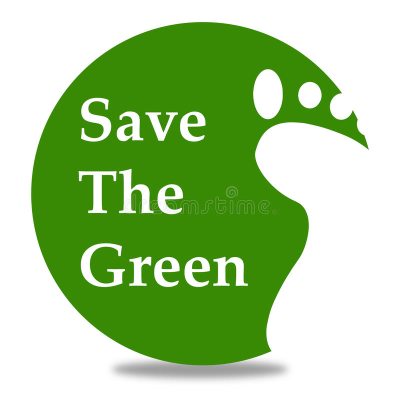 Download Save The Green Stock Illustration - Image: 42172679