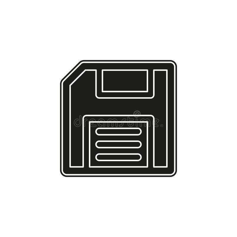 save icon - computer symbol - memory storage - information disc stock illustration