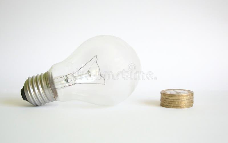 Save money. With economy lighting stock photos