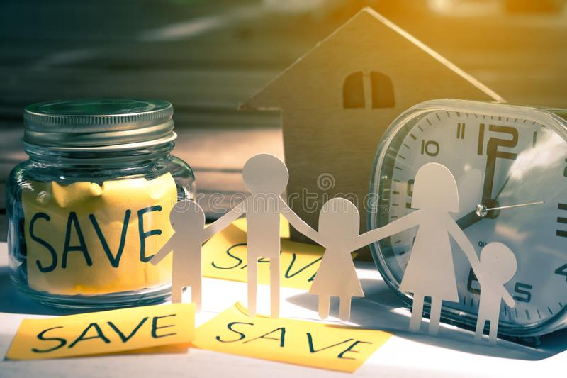 Save money concept save money. Save money concept save money for the future stock photos