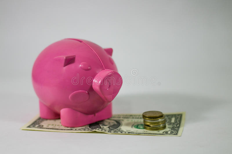 Save money. House home commercial royalty free stock photography