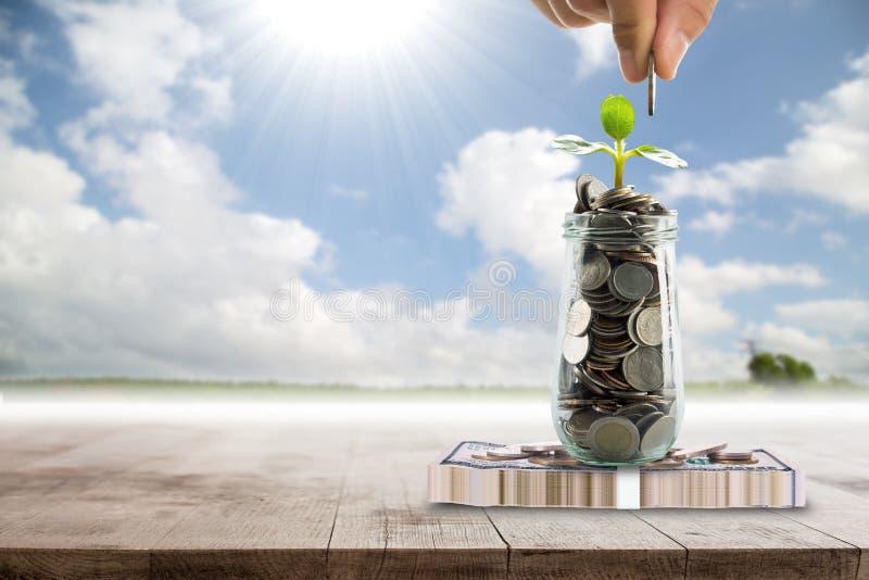 Save money for prepare. In the future stock image