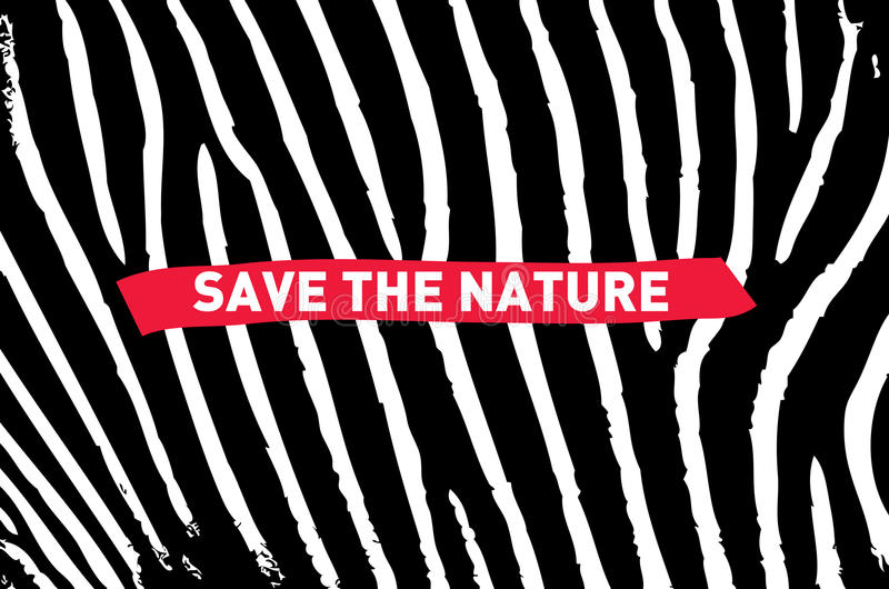 Save the nature royalty free stock photo