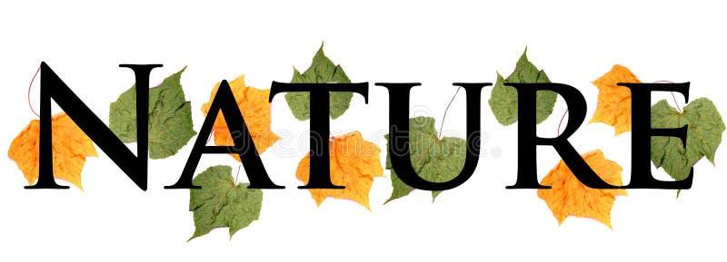 Save nature stock illustration