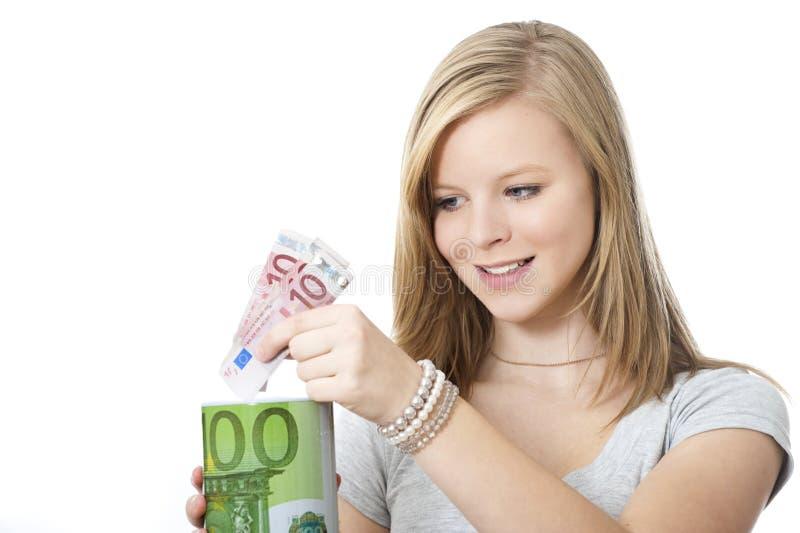 Save pieniądze zdjęcia stock
