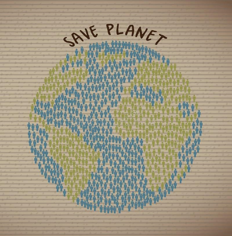 Save planetę ilustracji