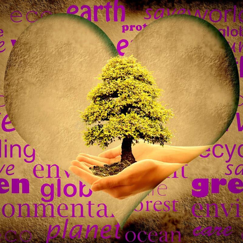Save planety ziemię ilustracja wektor