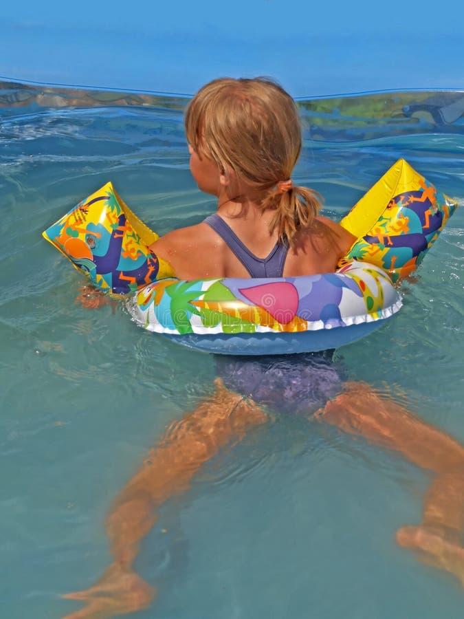 Save swimming stock image
